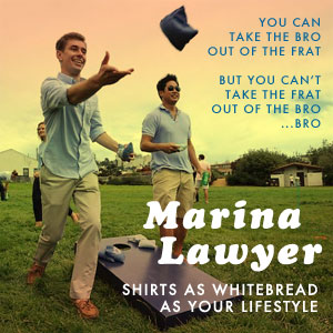 Marina Lawyer - Shirts As Whitebread As Your Lifestyle