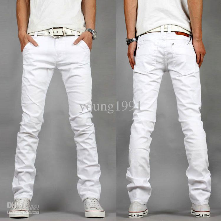 Buy low price, high quality men white denim pants with worldwide shipping on it24-ieop.gq